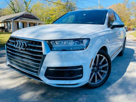 2017 Audi Q7 for sale at Cobb Luxury Cars in Marietta GA