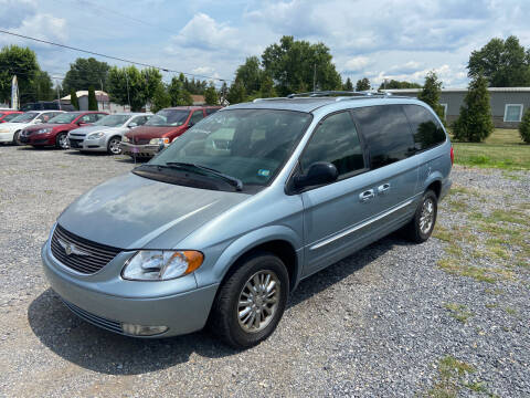 2003 Chrysler Town and Country for sale at US5 Auto Sales in Shippensburg PA