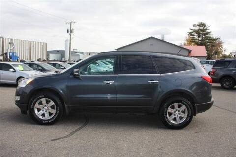 2011 Chevrolet Traverse for sale at SCHMITZ MOTOR CO INC in Perham MN