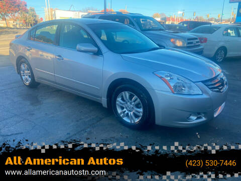2012 Nissan Altima for sale at All American Autos in Kingsport TN