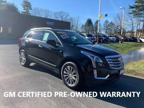 2019 Cadillac XT5 for sale at CJ Clark's New England Motor Car Company in Hudson NH