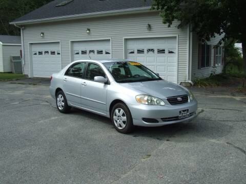 2008 Toyota Corolla for sale at DUVAL AUTO SALES in Turner ME