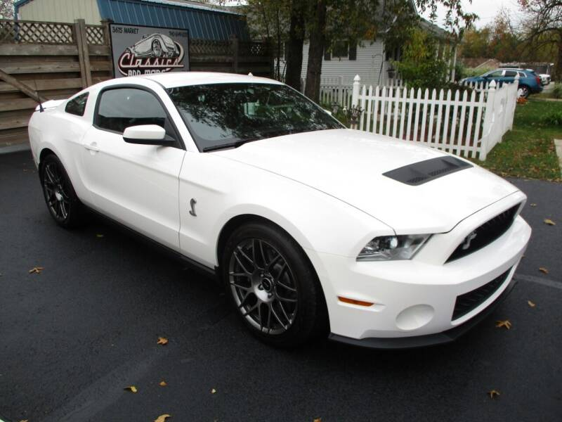 2012 Ford Shelby GT500 for sale at Classics and More LLC in Roseville OH
