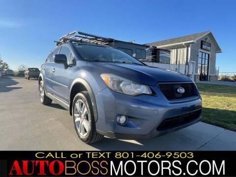 2013 Subaru XV Crosstrek for sale at Auto Boss in Woods Cross UT