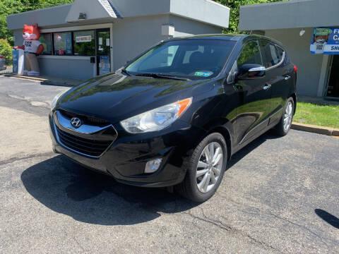 2012 Hyundai Tucson for sale at B & P Motors LTD in Glenshaw PA