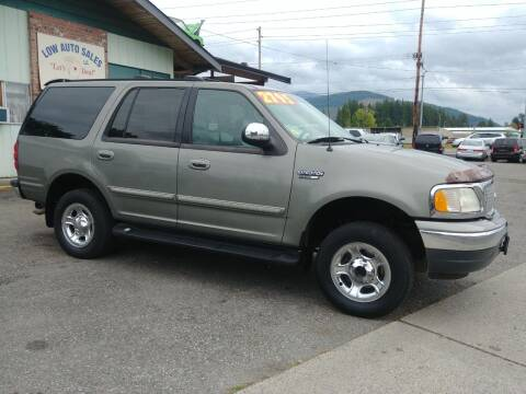 1999 Ford Expedition for sale at Low Auto Sales in Sedro Woolley WA