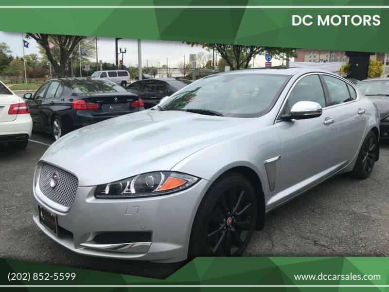 2014 Jaguar XF for sale at DC Motors in Springfield VA