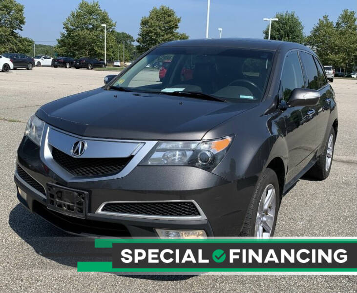 2012 Acura MDX for sale at Eastclusive Motors LLC in Hasbrouck Heights NJ