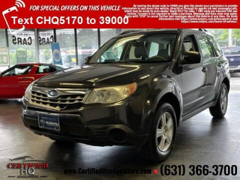 2011 Subaru Forester for sale at CERTIFIED HEADQUARTERS in Saint James NY