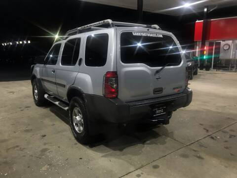 2001 Nissan Xterra for sale at GABBY'S AUTO SALES in Valparaiso IN
