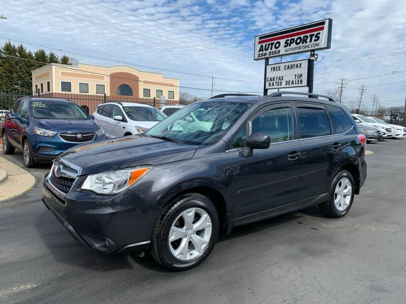 2014 Subaru Forester for sale at Auto Sports in Hickory NC