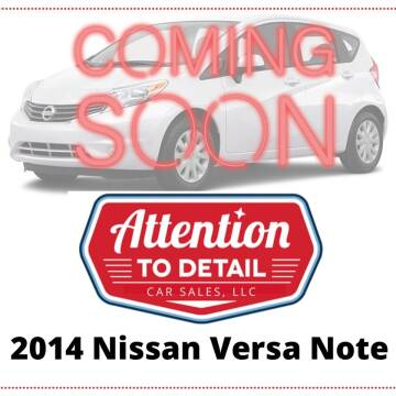2014 Nissan Versa Note for sale at Attention to Detail - Car Sales, LLC in Ogden UT