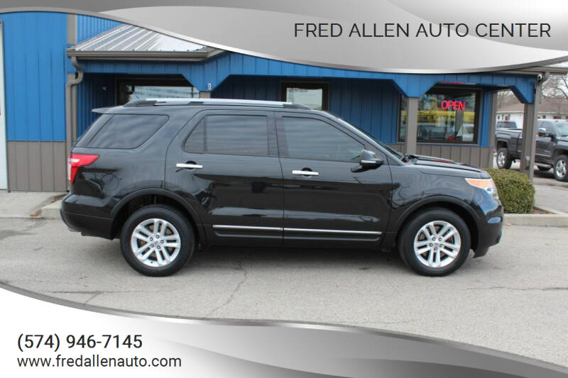 2013 Ford Explorer for sale at Fred Allen Auto Center in Winamac IN