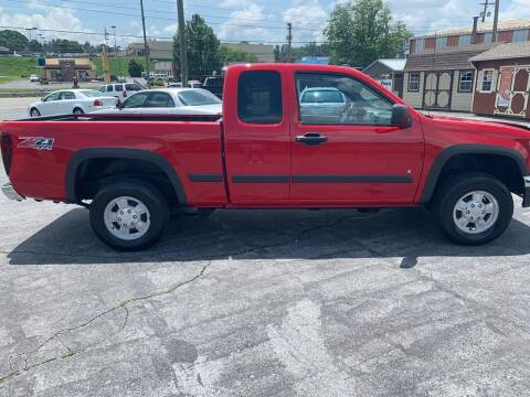 2007 Chevrolet Colorado for sale at Country Auto Sales Inc. in Bristol VA