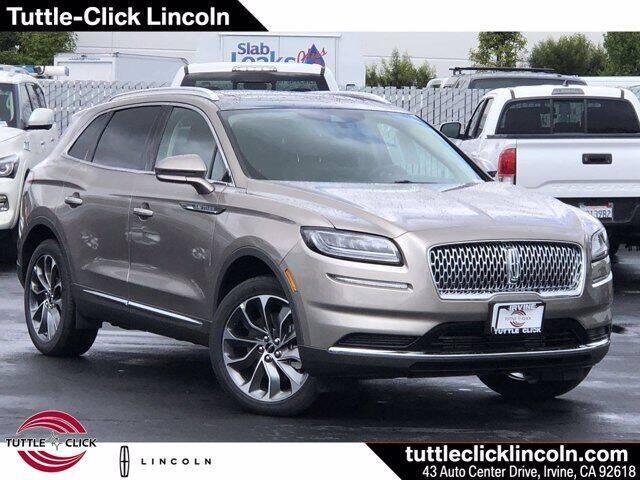 2021 Lincoln Nautilus for sale in Irvine, CA