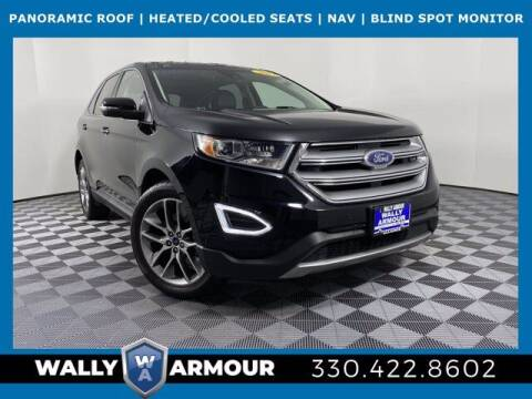 2017 Ford Edge for sale at Wally Armour Chrysler Dodge Jeep Ram in Alliance OH