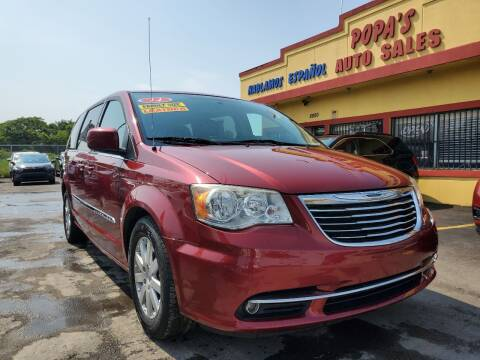 2014 Chrysler Town and Country for sale at Popas Auto Sales in Detroit MI