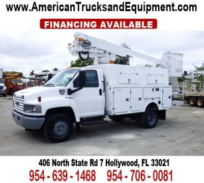 2006 GMC TOPKICK for sale at American Trucks and Equipment in Hollywood FL