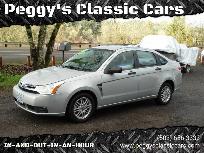 2008 Ford Focus for sale at Peggy's Classic Cars in Oregon City OR