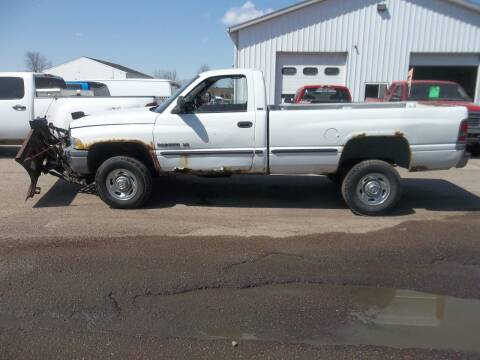 1999 Dodge Ram Pickup 2500 for sale at A Plus Auto Sales/ - A Plus Auto Sales in Sioux Falls SD