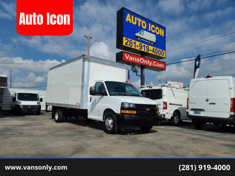 2021 Chevrolet Express Cutaway for sale at Auto Icon in Houston TX
