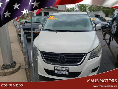 2010 Volkswagen Routan for sale at MAUS MOTORS in Hazel Crest IL