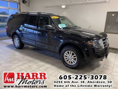 2014 Ford Expedition EL for sale at Harr's Redfield Ford in Redfield SD
