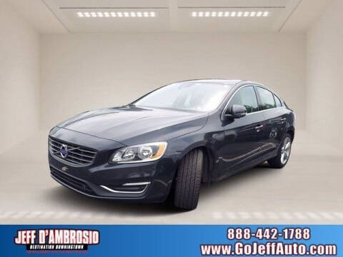 2016 Volvo S60 for sale at Jeff D'Ambrosio Auto Group in Downingtown PA