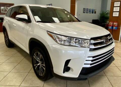 2019 Toyota Highlander for sale at Adams Auto Group Inc. in Charlotte NC