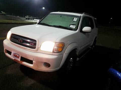 2004 Toyota Sequoia for sale at Cj king of car loans/JJ's Best Auto Sales in Troy MI