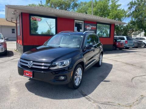 2013 Volkswagen Tiguan for sale at Big Red Auto Sales in Papillion NE