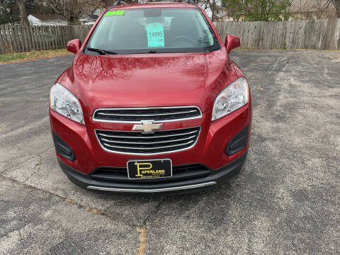 2015 Chevrolet Trax for sale at PAPERLAND MOTORS in Green Bay WI