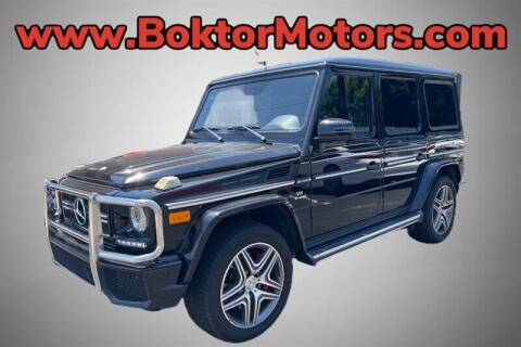 2014 Mercedes-Benz G-Class for sale at Boktor Motors in North Hollywood CA