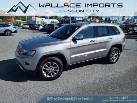 2015 Jeep Grand Cherokee for sale at WALLACE IMPORTS OF JOHNSON CITY in Johnson City TN