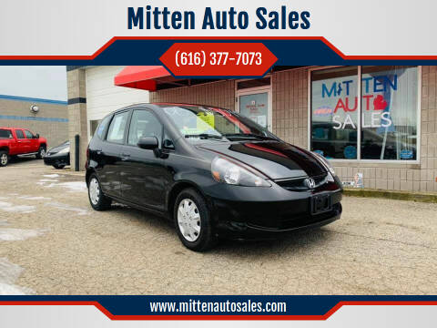 2008 Honda Fit for sale at Mitten Auto Sales in Holland MI