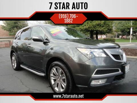 2011 Acura MDX for sale at 7 STAR AUTO in Sacramento CA