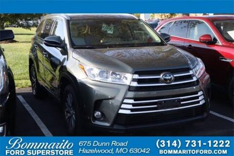 2018 Toyota Highlander for sale at NICK FARACE AT BOMMARITO FORD in Hazelwood MO