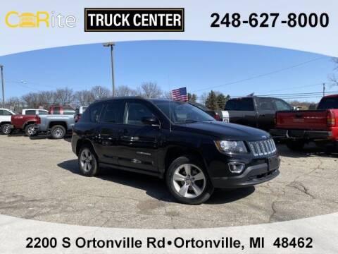 2016 Jeep Compass for sale at Carite Truck Center in Ortonville MI