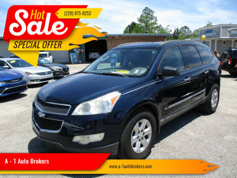 2009 Chevrolet Traverse for sale at A - 1 Auto Brokers in Ocean Springs MS
