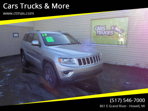 2014 Jeep Grand Cherokee for sale at Cars Trucks & More in Howell MI