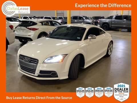 2015 Audi TTS for sale at Dallas Auto Finance in Dallas TX