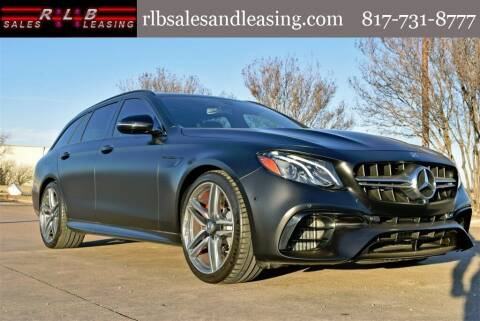 2020 Mercedes-Benz E-Class for sale at RLB Sales and Leasing in Fort Worth TX