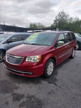 2012 Chrysler Town and Country for sale at DON BAILEY AUTO SALES in Phenix City AL
