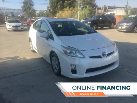 2010 Toyota Prius for sale at CALIFORNIA AUTO FINANCE GROUP in Fontana CA