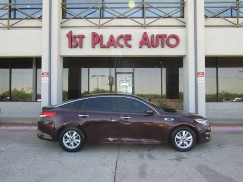 2018 Kia Optima for sale at First Place Auto Ctr Inc in Watauga TX