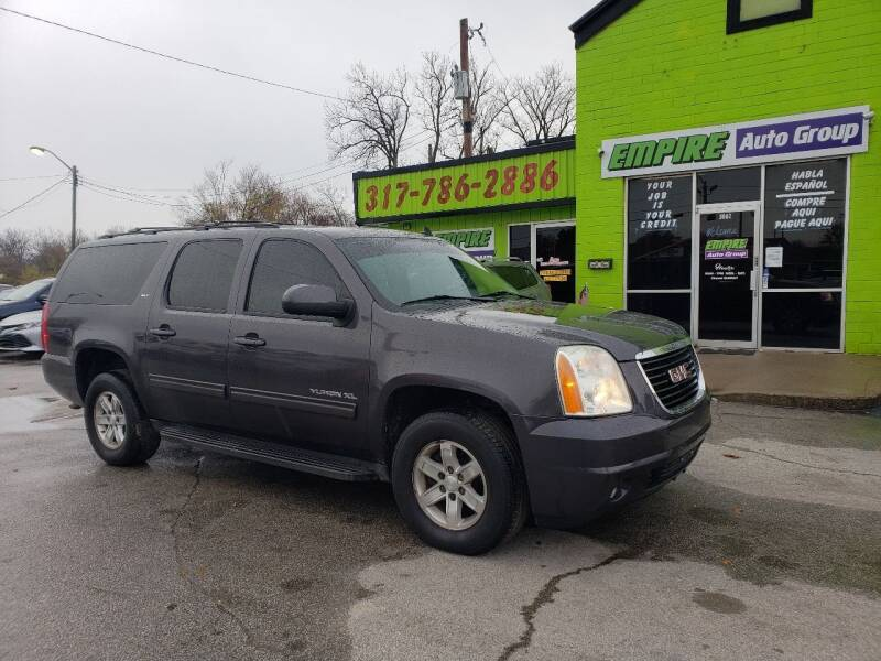 2010 GMC Yukon XL for sale at Empire Auto Group in Indianapolis IN