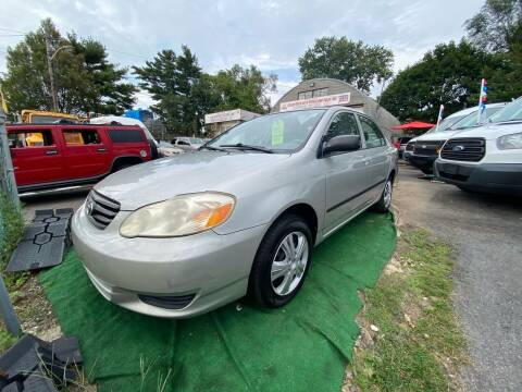 2004 Toyota Corolla for sale at White River Auto Sales in New Rochelle NY