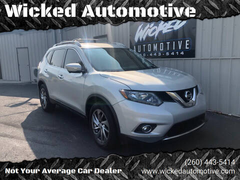 2015 Nissan Rogue for sale at Wicked Automotive in Fort Wayne IN