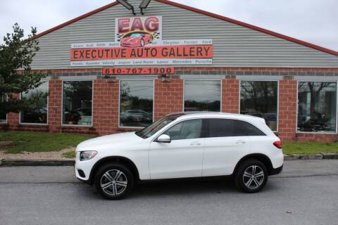 2017 Mercedes-Benz GLC for sale at EXECUTIVE AUTO GALLERY INC in Walnutport PA