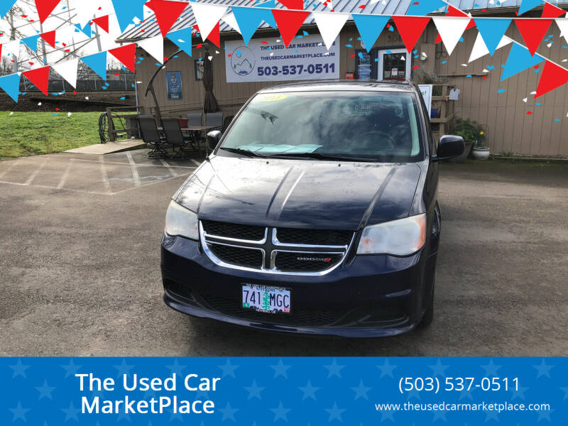 2013 Dodge Grand Caravan for sale at The Used Car MarketPlace in Newberg OR